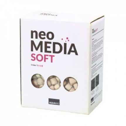 Наполнитель Aquario Neo Media Soft для биофильтрации с понижением pH, 1л, фото 2
