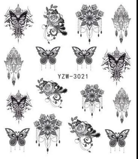 Слайдер-дизайн водный YZW-3021