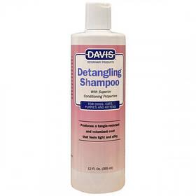 Шампунь-кондиціонер Davis Detangling Shampoo від ковтунів для собак, котів, концентрат, 355 мл