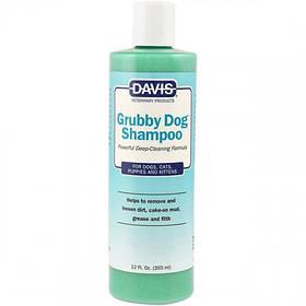 Шампунь Davis Grubby Dog Shampoo глибокого очищення для собак, котів, концентрат, 355 мл