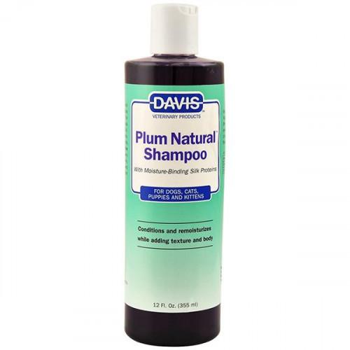 Шампунь Davis Plum Natural Shampoo с протеинами шелка для собак, котов, концентрат, 3.8 л