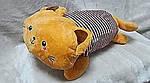 Плед мягкая игрушка 3 в 1  Котик рыжий  (26), фото 4