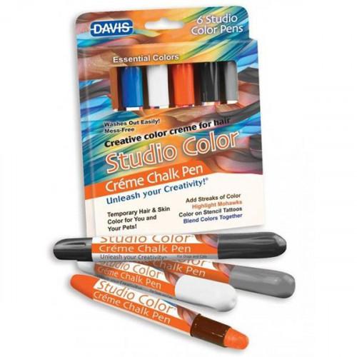 Крейду Davis Essential Colors барвний, для вовни, волосся, шкіри