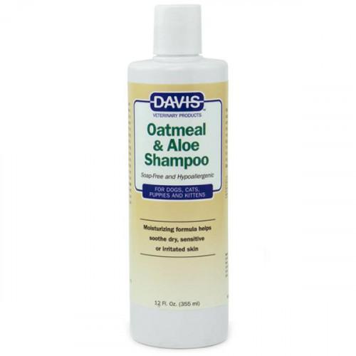 Шампунь Davis Oatmeal & Aloe Shampoo гіпоалергенний, для собак і котів, концентрат, 3.8 л