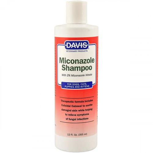 Шампунь Davis Miconazole Shampoo для собак и котов с заболеваниями кожи, 355 мл