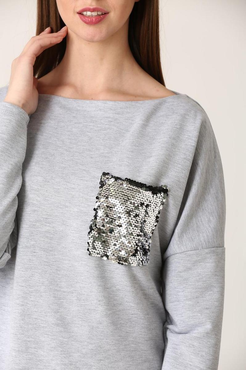 Женская кофта с карманом Story