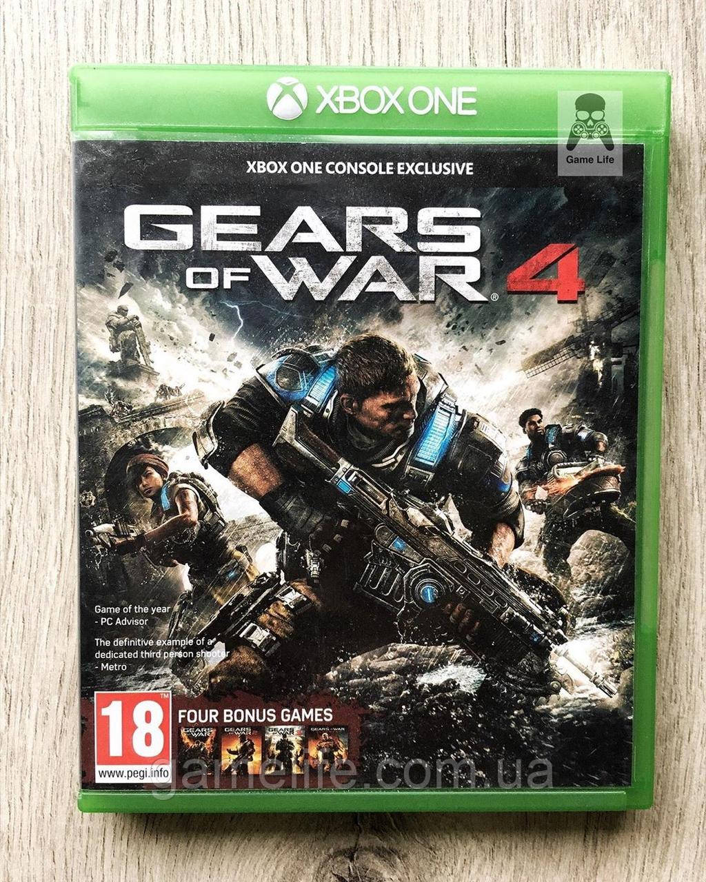 Gears of War 4 (рус.) (б/у) Xbox One