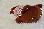 Плед мягкая игрушка 3 в 1  Котик шоколадный  (29), фото 2