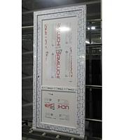 Двери межкомнатные металлопластиковые WDS белые 800х2000 мм