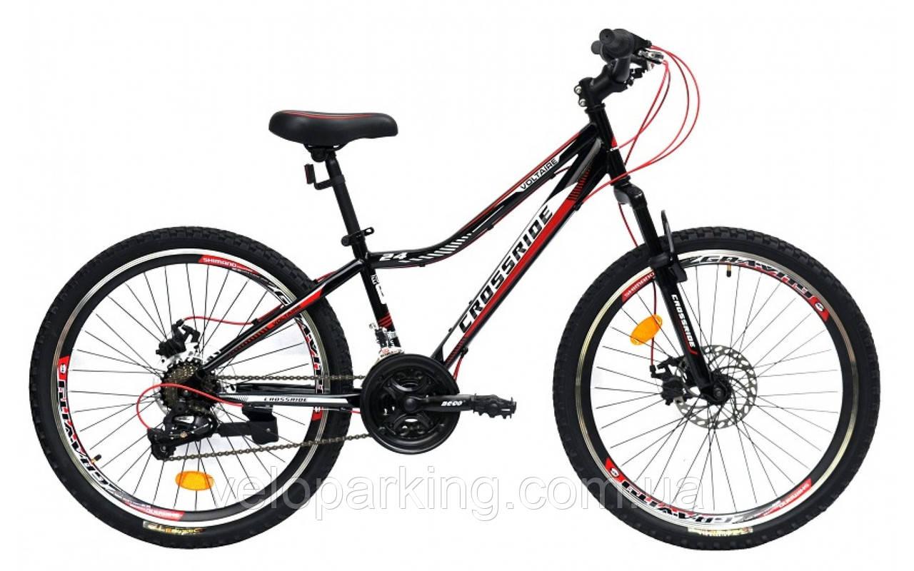 Гірський підлітковий велосипед 24 Ardis Voltaire (2020) сталевий