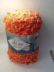 Пряжа для в'язання руками без спиць Puffy fine ombre batik Alize ( 500 грам - 73 метри)