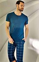 Комплект мужской домашней одежды, ( х/б (футболка короткий рукав+капри) Aydogan