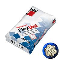 Клей BAUMIT FlexUni эластичный для облицовки керамической и керамогранитной плиткой, 25 кг