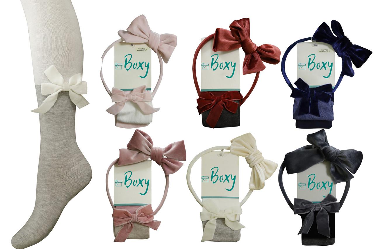 Колготы для девочки детские демисезонные с обручем, Boxy