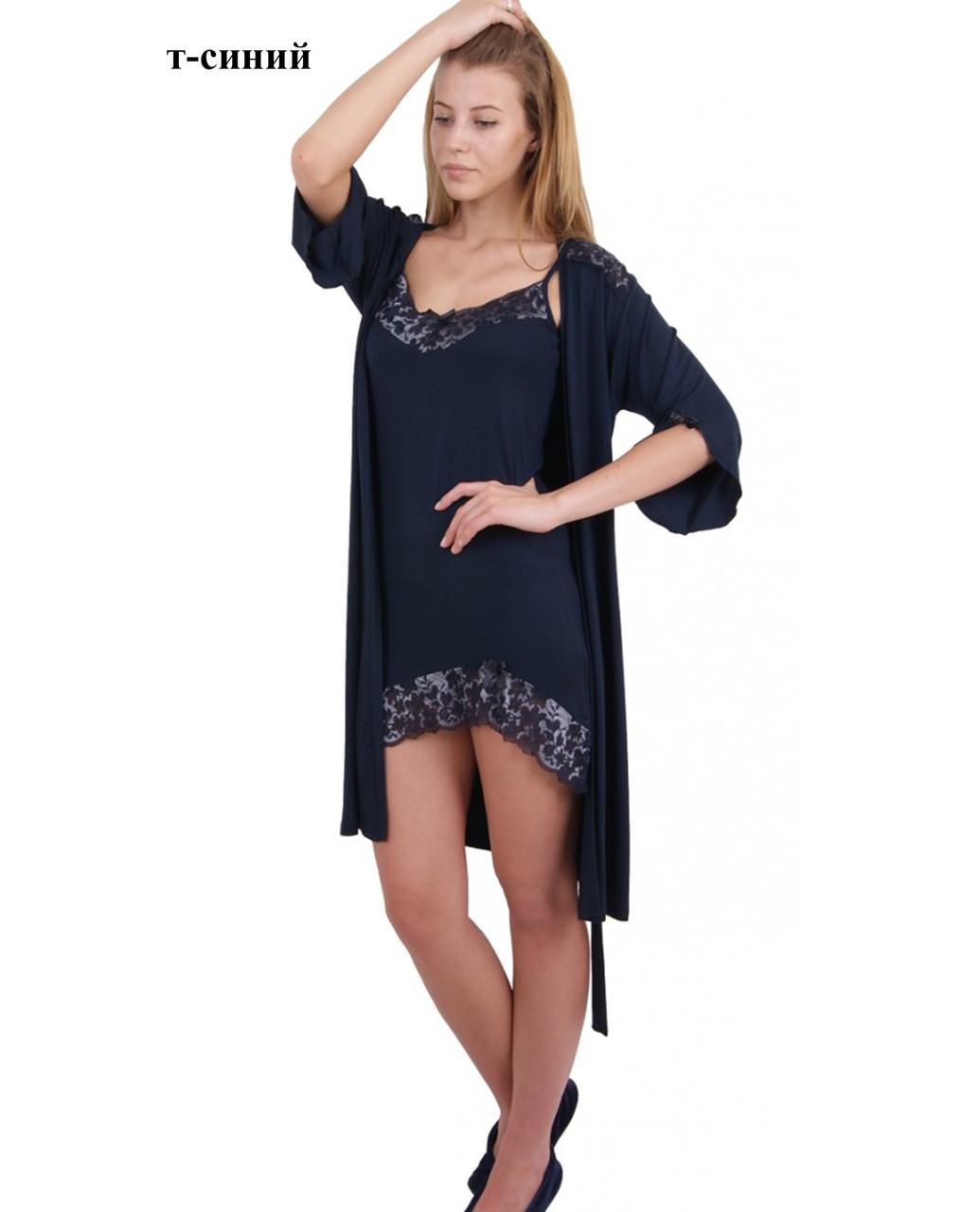 Комплект женский (футболка короткий рукав+штаны),  вискоза, ПАК/3 шт. Nicoletta (2ХL-4ХL)