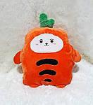 Плед мягкая игрушка 3 в 1  Морковка  (34), фото 2