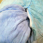 Плед мягкая игрушка 3 в 1  Слоник голубой  (36), фото 2