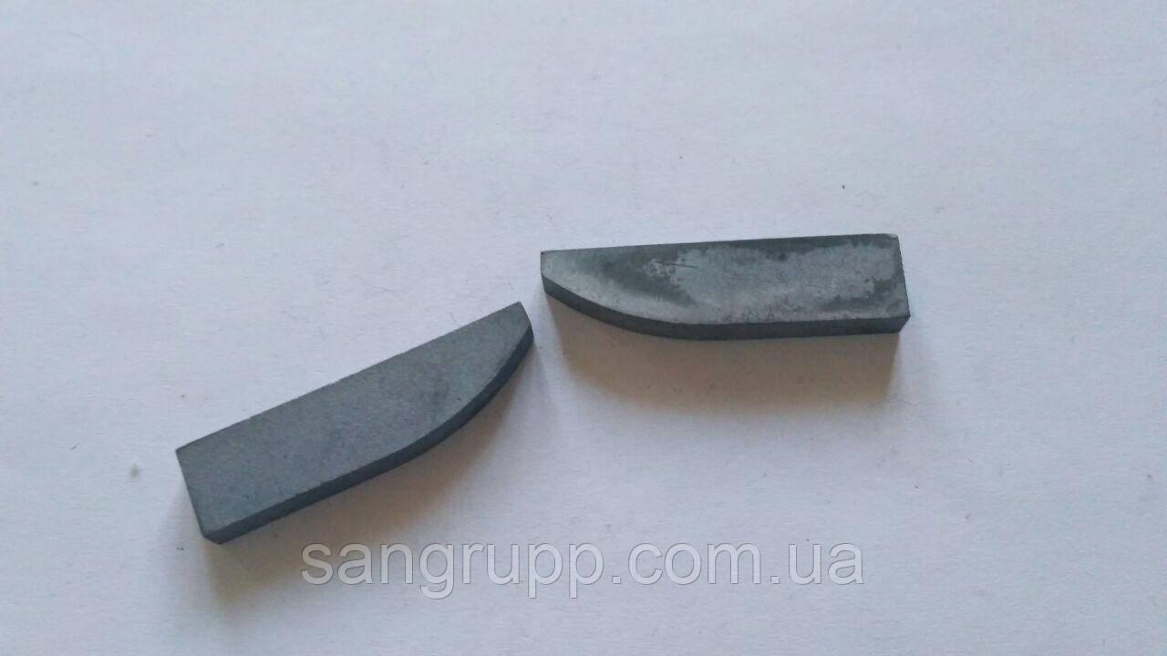 Пластина напайная 21550 ВК8, Т5К10, Т15К6