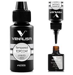 Топ гель Venalisa Посилене фінішне покриття без липкого шару 30 мл (UV/LED)