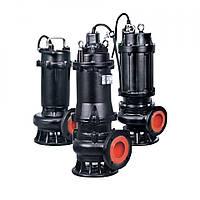 Насос канализационный 380 В 1.1 кВт Hmax 15 м Qmax 550 л/мин LEO 3.0 65WQ15-10-1.1F 7738323, фото 1