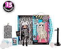 Светящаяся кукла Лол Заводная малышка L.O.L. Surprise! O.M.G. Lights Groovy Babe ОРИГИНАЛ, фото 1