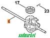 Редуктор привода колес газонокосилки STIHL/VIKING 4-й серии
