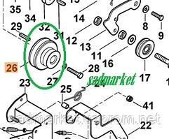 Шків ременя переднього ходу культиватора VIKING HB 660