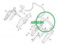 Рукоятка ведущая газонокосилки STIHL RM 545 / VIKING MB 545