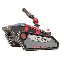 Пожежний робот RXR-M120D-A добре працює на шосе та залізничному тунелі.