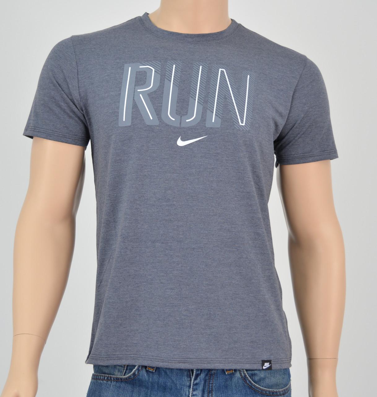 Мужская футболка NIKE(реплика) пепельный
