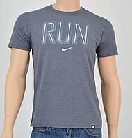Мужская футболка NIKE(реплика) пепельный, фото 1