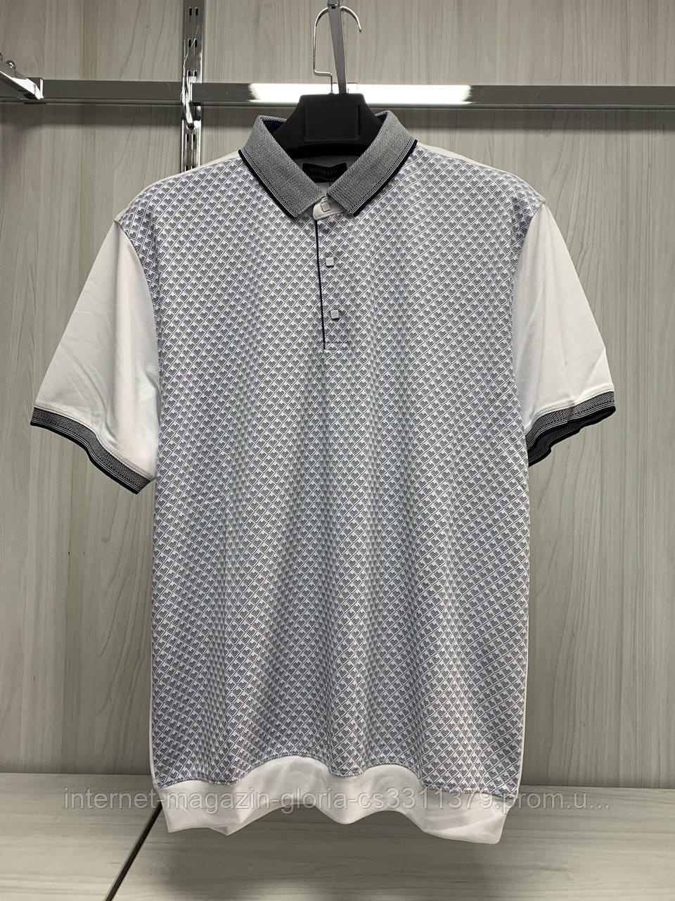 Мужская футболка поло Better Life. 127. Размеры: M,L,XL,XXL.