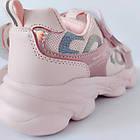 Пудровые кроссовки от Том М девочкам, 33, 34, 35, 36, 37, 38 Весенние, осенние, розовые Томми, фото 7