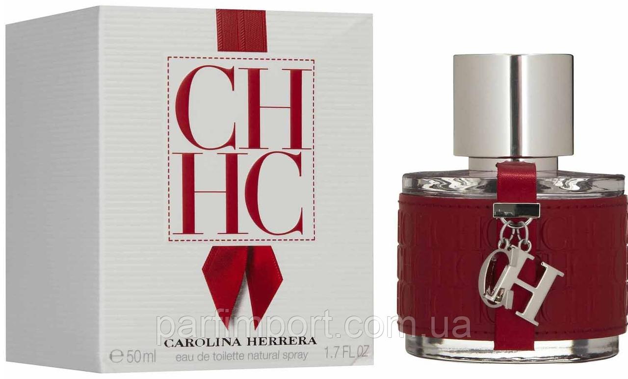 CAROLINA HERRERA CH FOR WOMAN EDT 50 ml  туалетная вода женская (оригинал подлинник  )