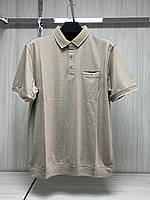 Мужская футболка поло Better Life. 843 beige. Размеры: M,L,XL,XXL.