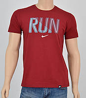 Мужская футболка NIKE(реплика) Бордо