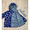 Демисезонные куртки для мальчиков легкие ветровки размер 92-110, фото 2