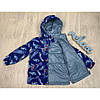 Демисезонные куртки для мальчиков легкие ветровки размер 92-110, фото 3