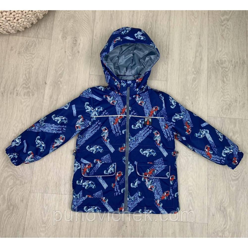 Демисезонные куртки для мальчиков легкие ветровки размер 92-110