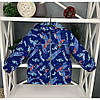 Демисезонные куртки для мальчиков легкие ветровки размер 92-110, фото 4
