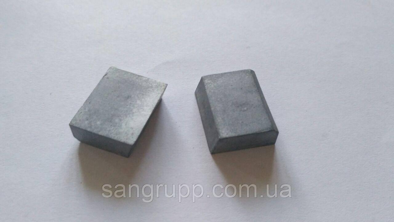 Пластина напайная 02291 ВК8, Т5К10, Т15К6