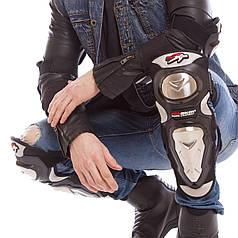 Комплект мотозащиты (колено, голень + предплечье, локоть) 4шт PRO BIRER (PVC, металл, черный) PZ-MS-1234