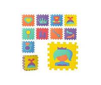 Коврик Мозаика M 6100  EVA,напольн.покр,попринцесы,10дет(9мм,32-32см),6текстур,куль,32-32-10см(M 6100)