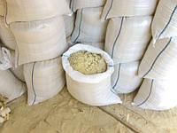 Фасованный речной песок в мешках, песок в мешках по 50 кг.