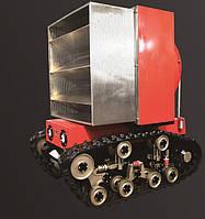 Робот з генератором піни