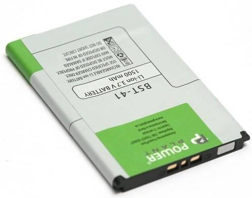 Аккумуляторная батарея PowerPlant BST-41 1500 mAh для Sony Ericsson A8i/Aspen/Aspen, фото 2