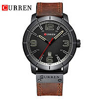 Часы CURREN 8327 Black Silver 47mm (Quartz).