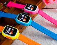 Детские «Умные» часы с GPS трекером Q80 / Часы-телефон для детей