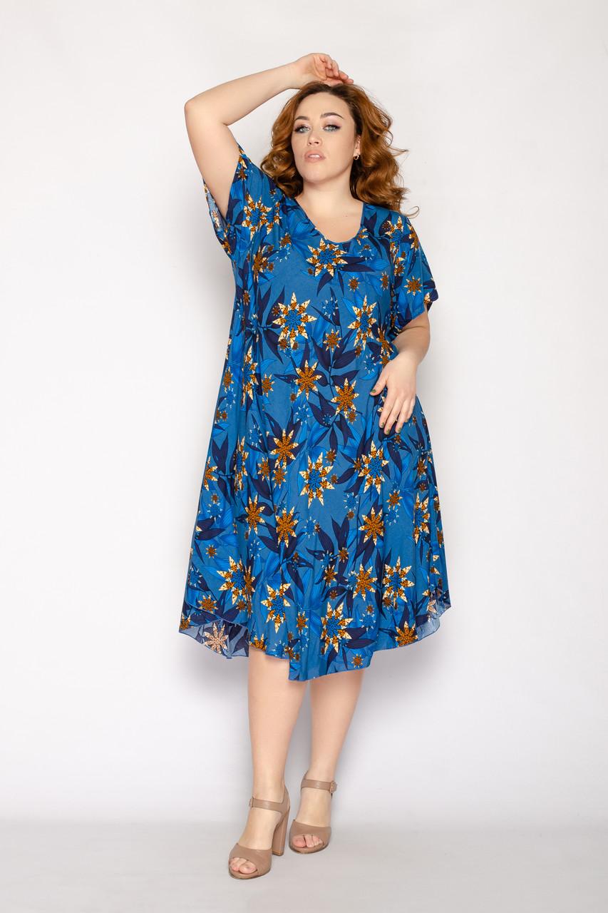 Женское летнее платье 1236-67