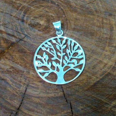 Підвіс срібний Дерево Житя у колі